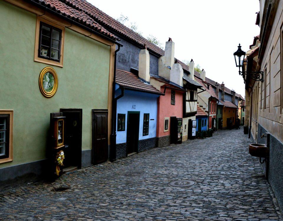 Prague Castle - Golden Lane