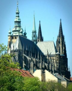 St. Vitus Cathedral from behind