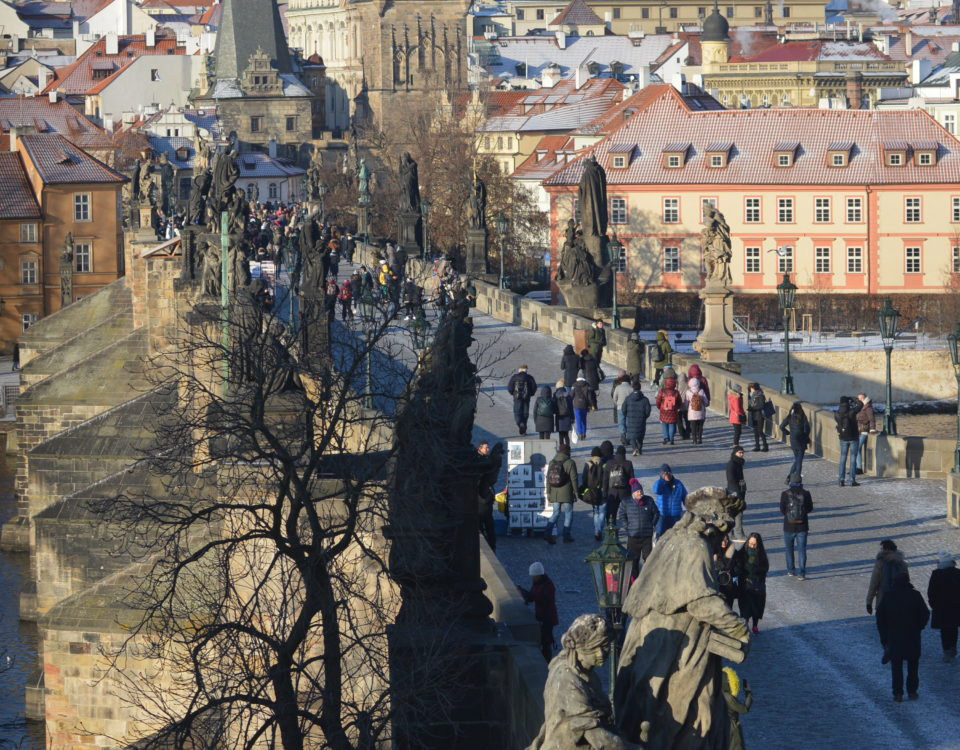 Charles Bridge from the Bridge Tower