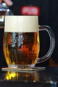 cream beer tap