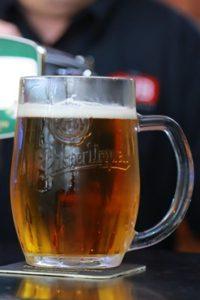 neat beer