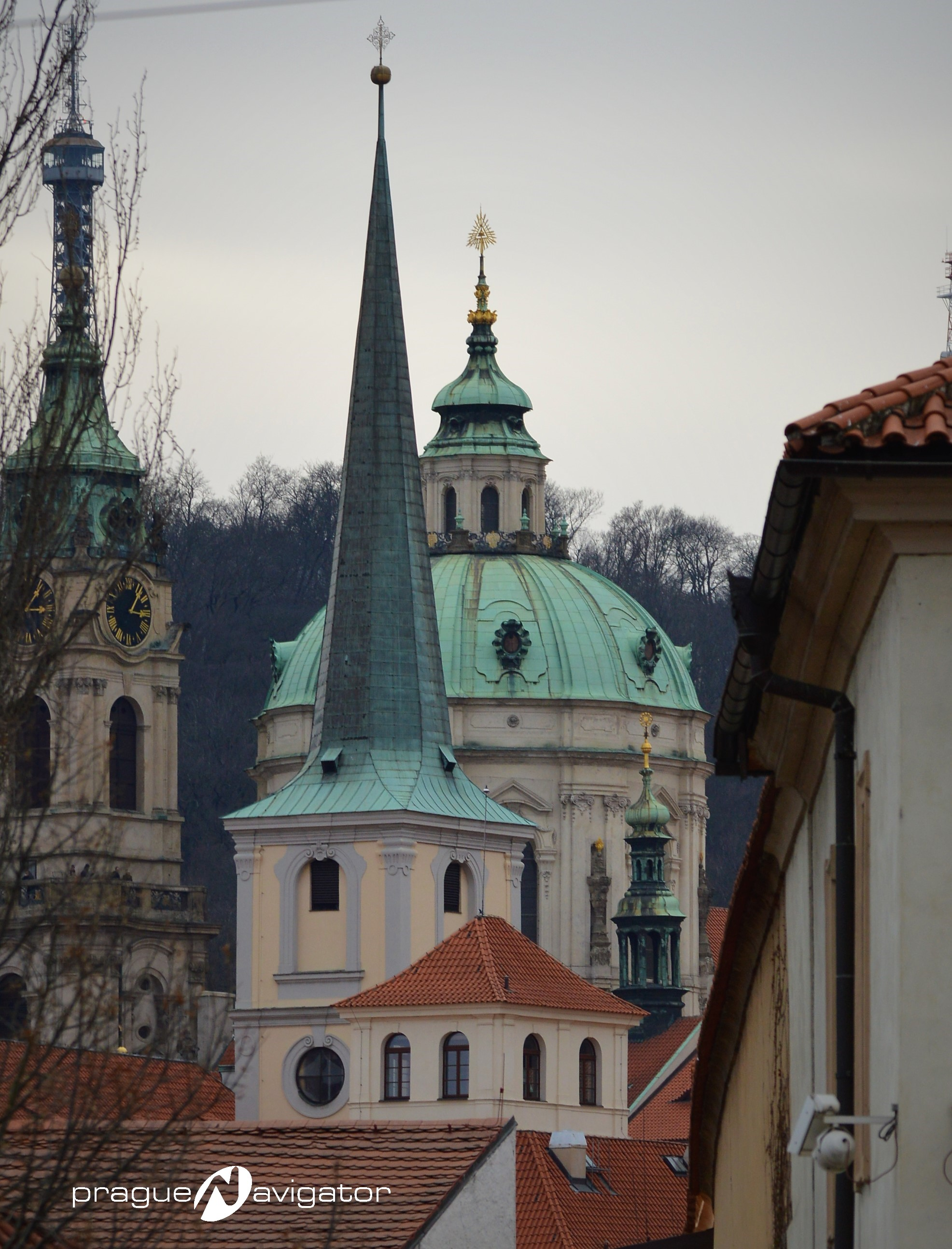 St NIcholas Church from Malostranska