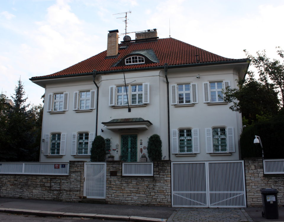 Villa at Dělostřelecká St. No. 1